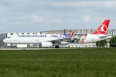 TC-JSU (PlanePixNase) Tags: eddv haj hannover airport aircraft planespotting turkish turkishairlines lego airbus 321 a321 langenhagen