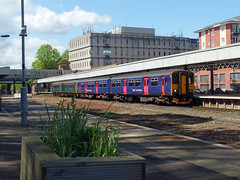 143603 & 150238 Exeter Central (3) (Marky7890) Tags: 150238 class150 sprinter gwr 143603 class143 pacer 2f25 exetercentral railway devon train