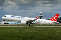 TC-LSD (PlanePixNase) Tags: eddv haj hannover airport aircraft planespotting langenhagen turkish turkishairlines airbus a321 a321neo neo