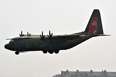 ZH887 RAF Lockheed C130 Hercules EGNS 18/4/19 (David K- IOM Pics) Tags: egns iom isleofman isle man ronaldsway airport zh887 lockheed c130 hercules raf royal air force brize norton royalairforce