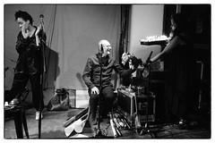David Toop/John Butcher/Terry Day/Elaine Mitchener @ Cafe Oto, London, 5th May 2019 (fabiolug) Tags: birthdaycake cake birthday candles davidtoop johnbutcher terryday elainemitchener improvisation improv flutterechofestival flutterecho toop davidtoopat70 cafeoto london dalston music gig performance concert live livemusic leicammonochrom mmonochrom monochrom leicamonochrom leica leicam rangefinder blackandwhite blackwhite bw monochrome biancoenero 35mmsummicronasph 35mmf2summicronasph summicronm35mmf2asph summicron35mmf2asph 35mm summicron leicasummicron leica35mm