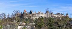 CARCASSONNE-023-CITE - AUDE -OCCITANIE- FRANCE-PANORAMIQUE Cité de CARCASSONNE _DSC0398 (bercast) Tags: aude carcassonne chateau chateaumedival france occitanie ue bc bercast lacitédecarcassonne