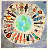 Rocky Hill Elementary School, Knoxville, TN (International Fiber Collaborative, Inc.) Tags: thedreamrocket internationalfibercollaborative saturnvrocket space nasa astronaut conservation aliens twintowers health family diversity glitter christmas newyork nova art environment clean trees water trash planting green people cancer group equality paint flag elementary school home humans agriculture mountain save leader unitedstatesofamerica facebook felt kentucky washington olympic peace presidentobama stars community global kids express explore discover war animal abuse racism religious intolerance