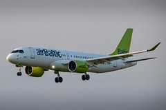 Air Baltic - CS300 / A220-300 [YL-CSM] at Luxembourg Findel Airport - 01/05/19 (David Siedler) Tags: airbaltic cs300 a220 airbus a220300 cseries ylcsm luxembourg findel airport luxembourgairport findelairport ellxlux