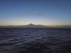 Tenerife at dawn (plutogno) Tags: canary island tenerife pico del teide volcano mountain dawn sea ocean atlantic