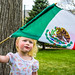Cinco De Mayo celebration - Pondering the flag