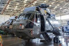 ZG819 Westland Sea King HAS.6 @ HMS Sultan, Gosport, Hampshire. (Sw Aviation) Tags: zg819 westland sea king has6 hms sultan gosport hampshire has1 has5 helicopter heliport helipad helicopters avgeek aviation flying flight hangar stored training worked