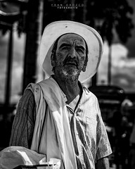 Rostros palmas 10 (Fran Orozco Fotografía) Tags: photo photos photography photographs foto fotos fotografía fotografías fotógrafo nikon dslr colombia 50mm ilovephotography portrait blackwhite people