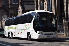 OU65RHE  Hamilton, Uxbridge (highlandreiver) Tags: ou65rhe ou65 rhe hamilton coaches uxbridge london neoplan tourliner bus coach edinburgh
