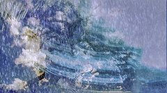 Flying in the Storm (soniaadammurray - On & Off) Tags: digitalphotography manipulated experimental collage picmonkey photoshop abstract fly sky blue mondayblues artchallenge exterior nature rain storm shadows reflections