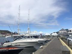 The marina at Gustavia, St Barth
