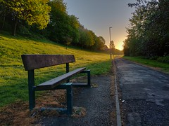 Hbm early start (poach01) Tags: benchmonday benches seats sunrise sunset