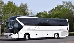 OU19XXA  Group 10, Durham (highlandreiver) Tags: ou19xxa ou19 xxa group 10 coaches durham neoplan tourliner bus coach gretna green