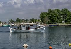 Fanari fishing boat (akatsoulis) Tags: macedonia xanthi greece lakevistonida nikkor50mm14g d5300 nikon fishingboat