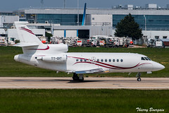 [ORY] Exklusiv Aviation Services Dassault Falcon 900B _ TT-DIT (thibou1) Tags: thierrybourgain ory lfpo orly spotting aircraft airplane nikon d810 tamron sigma private falcon900b dassault ttdit takeoff exklusivaviationservices eas
