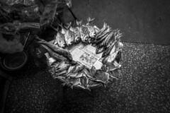 Dried Fish, Mong Kok, Hong Kong (HutchSLR) Tags: hutchslr hongkong asia china chinese city monochrome mong kok market mongkoknightmarket leica typ240 35mm summicron