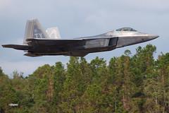 171105_025_JaxAS_F22 (AgentADQ) Tags: jacksonville nas air show airshow 2017 jet fighter plane airplane military aviation us force lockheed f22 raptor