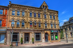 Brantford Ontario - Royal Victoria Place at 136-142 Dalhousie - Commercial Building 1881 (Onasill ~ Bill Badzo) Tags: arts beaux blue clouds sky style architecture tour walking society historical mysteries murdoch reuse adaptive restored shoot set move series tv street courthouse architect designed johnturner 1881 building commercial downtown dalhousie 142 136 place victoria royal historic heritage onasill brantcounty canada ontario ont on brantford eos rebel canon sl1 18250mm macro sigma lens