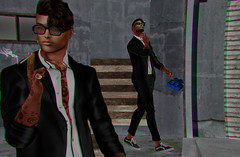 #68 (Leon Miranda) Tags: glasses ds clive stag men monthly new suit jacket galvanized chinos sneakers semller black white skate beverage junk food saturday sale beer preview