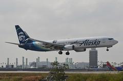 Alaska Airlines Kevin Durant Livery 737-990(ER) (N280AK) LAX Approach 1 (hsckcwong) Tags: alaskaairlines kevindurantlivery 737990er 737900er 737900 737 n280ak klax lax