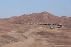 Cumbre (Reed Skyllingstad) Tags: 1414 1419 1430 antofagasta chile color copperplate cumbre cumbreloops desert emd emdgr12um emdnf210 electromotivediesel fcab fcab1414 fcab1419 fcab1430 ferrocarrildeantofagastaabolivia gr12um nf210 narrowgauge outdoors outside railroad railway sulfuricacid sunny tracks train