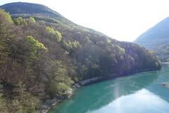 Rhône @ Pont Carnot @ Hike to Le Vuache (*_*) Tags: randonnee nature montagne mountain hiking walk marche 2019 printemps spring april jura vuache savoie europe france hautesavoie 74 ain bridge pont river chevrier afternoon rhone fleuve