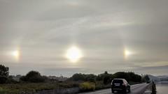 Tres soles en el cielo (eitb.eus) Tags: eitbcom 378 g1 tiemponaturaleza tiempon2019 fenomenosatmosfericos bizkaia getxo carlosolmedillas