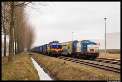 Railexperts 1251, Amsterdam Houtrakpolder 07-03-2018 (Henk Zwoferink) Tags: amsterdam noordholland netherlands henk zwoferink railexperts raillogix china silk road 1251 6703 1200 houtrakpolder shuttle