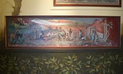 Banquet of pygmies (kate223332) Tags: museum napoli italy archeology pompeii fresco wallpainting casadelmedico houseofthephysician houseofthejudgementofsolomon