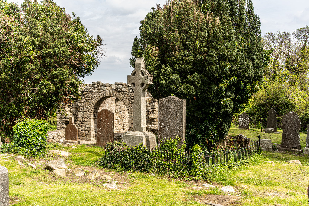TULLY CHURCH AND CHURCHYARD [LEHAUNSTOWN LANE DUBLIN]-152339