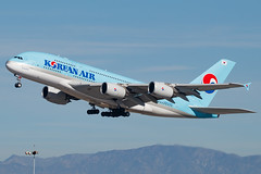 Airbus A380-861  Korean Air REG: HL7627  Los Angeles - International (LAX / KLAX)  California, USA (Hector A Rivera Valentin) Tags: