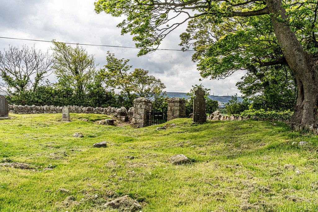 TULLY CHURCH AND CHURCHYARD [LEHAUNSTOWN LANE DUBLIN]-152364