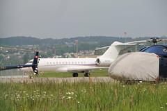 M-YSSF Bombardier BD-700 Global 6000 (Ray's Photo Collection) Tags: zurich bizjet myssf zürich airport flughafen switzerland schweiz suisse aviation aircraft plane flugzeug bombardier bd700 global 6000