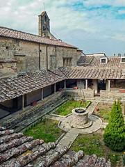 Il chiostrino di San Francesco  a Fiesole (giorgiorodano46) Tags: marzo2015 march 2015 giorgiorodano fiesole toscana italy chiostro cloister monastero cloître kloster monastère monastery