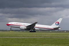 B-2077 Boeing 777-F6N (2) (Disktoaster) Tags: eham ams schiphol airport flugzeug aircraft palnespotting aviation plane spotting spotter airplane pentaxk1