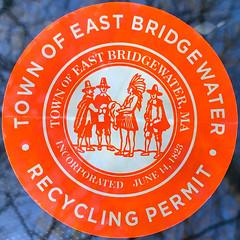 Permit (Timothy Valentine) Tags: squaredcircle 0519 sticker 2019 home eastbridgewater massachusetts unitedstatesofamerica