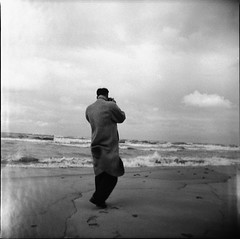 Back - Vintage Negative (Photo Alan) Tags: blackwhite blackandwhite monochrome film vintage negative people