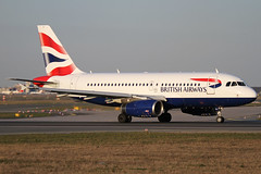 G-EUPZ | British Airways Airbus A319-131 | Frankfurt Airport EDDF/FRA | 29/03/19 (MichaelLeung213) Tags: british airways ba baw speedbird a319 airbus a319131 geupz eupz cross runway spotting frankfurt fra eddf am main fraeddf plane 18 take off takeoff taxi taxiing london heathrow chatham dockyard spotato photography germany