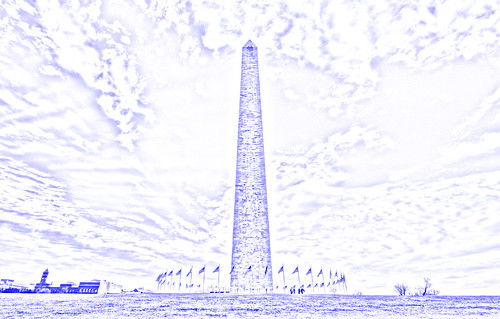Washington Monument (drawing filter)
