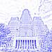 Buffalo City Hall (drawing filter)