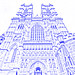 Westminster Abbey (drawing filter)