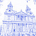 St. Paul's Cathedral (drawing filter)