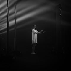dancing in the dark (anders.rorgren) Tags: bw square dancer milan design week