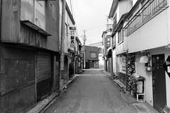 Shinjo 8 (peaceblaster9) Tags: town street shinjo yamagata japan sony rx100m3 blackandwhite bnw bw blackwhite 新庄 山形 モノクローム 白黒