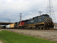 CN A49081-23 (Tunnel Blanket) Tags: cn a490 bcol c449w bcrail joliet illinois leithtonsub