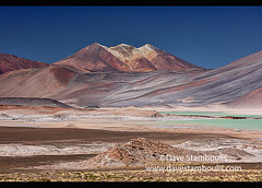 Otherworldly landscape at the Salar Aguas Calientes, Atacama Desert, Chile (jitenshaman) Tags: travel worldtravel destination destinations southamerica latinamerica chile atacama sanpedrodeatacama nortegrande desert altiplano plains mountain mountains volcano landscape landscapes scenery nature outdoors natural view vista colours colors colour color arid dry deserts valley naturallandscape naturesbeauty beautiful desolate stark desertscape wilderness volcanic colourful salar saltflats saltflat salt moonscape salaraguascalientes rainbow
