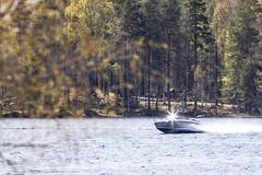 Heijastus veneestä (VisitLakeland) Tags: bellanpuisto bellanranta finland kallavesi kuopio lakeland järvi lake