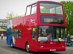 Go North East 6000 (X594EGK) - 05-05-19 (02) (peter_b2008) Tags: goaheadgroup gonortheast eastyorkshiremotorservices eyms volvo b7tl plaxton president opentop 6000 x594egk buses coaches transport buspictures