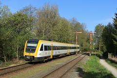 BWEGT 612 24 april (DB Stolt) Tags: enzisweilerbahnhof 612 bwegt formsignale