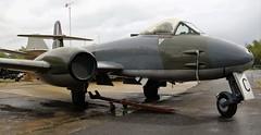 WK864 GLOSTER METEOR YORKSHIRE AIR MUSEUM ELVINGTON (toowoomba surfer) Tags: jet aeroplaneaviation aircraft museum airmuseum aviationmuseum
